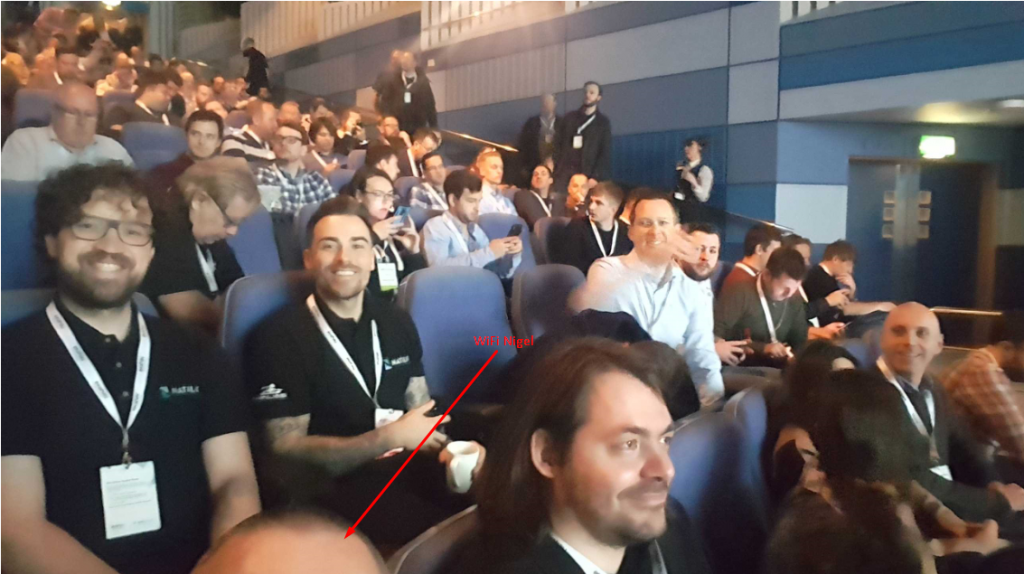 WiFi Nigel Selfie 2