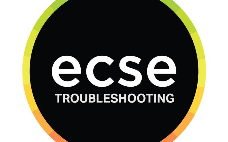 ECSE Troubleshoot Feature