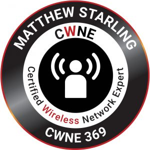 Matt CWNE Badge
